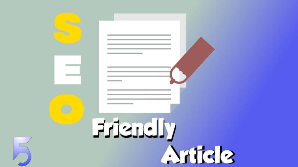 Seo friendly article kaise likhe