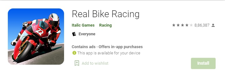 real bike racing - Bike wala game